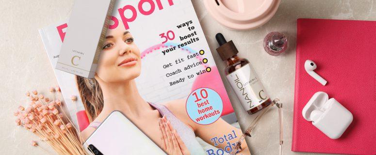 serum do twarzy z witaminą c Nanoil