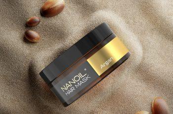 nanoil arganowa maska wzmacniająca włosy